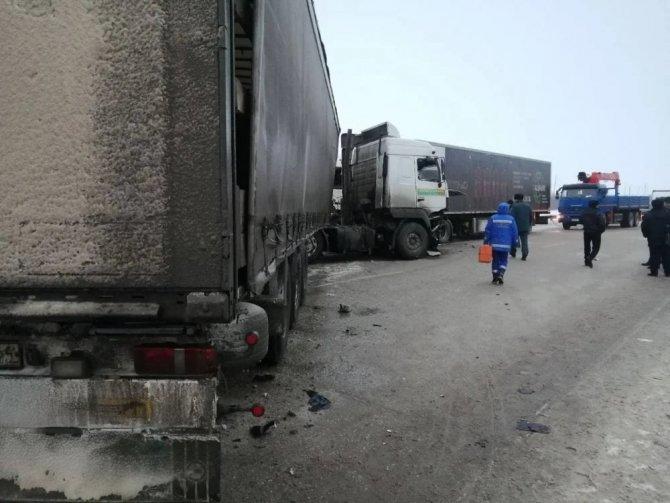 В ДТП с фурами в Марксовском районе Саратовской области погиб ребенок (2)