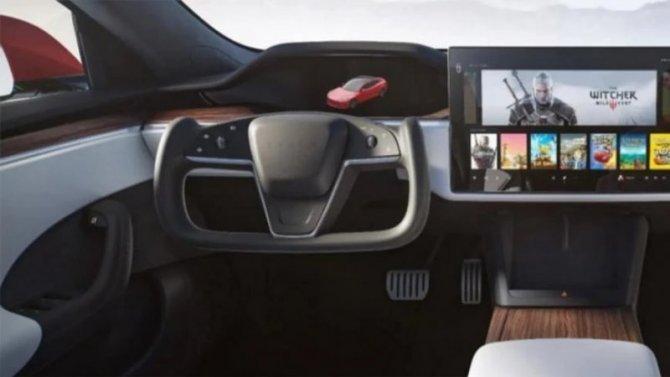Tesla Model Sполучит обычное рулевое колесо