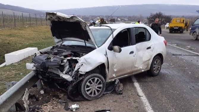 На Кубани произошло ДТП с 4 автомобилями