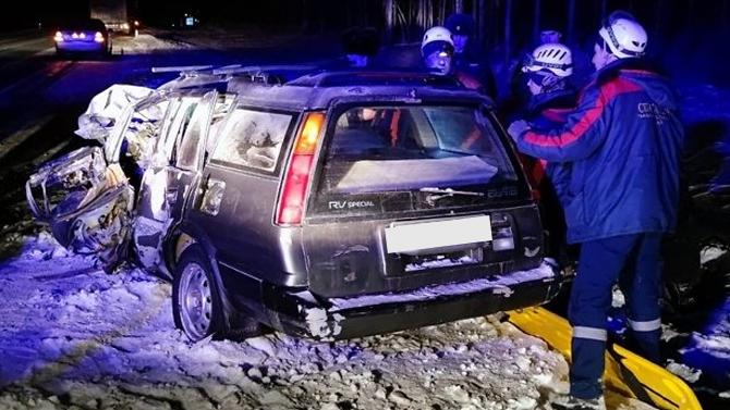 Пассажир иномарки погиб вДТП под Читой
