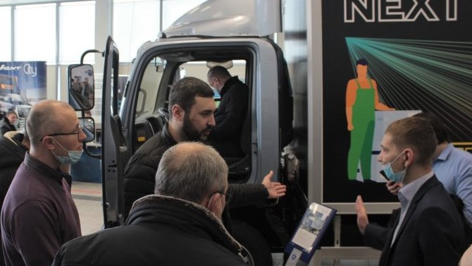 В дилерских центрах АВТОРИТЭЙЛ начались продажи нового среднетоннажного грузового автомобиля «Валдай NEXT»