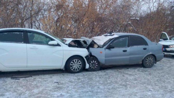 Лобовое столкновение вЧелябинской области, один человек погиб