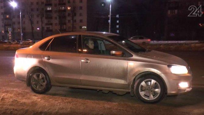 Автоинспекторы в Казани наткнулись на водителя, который честно признался, что пил пиво