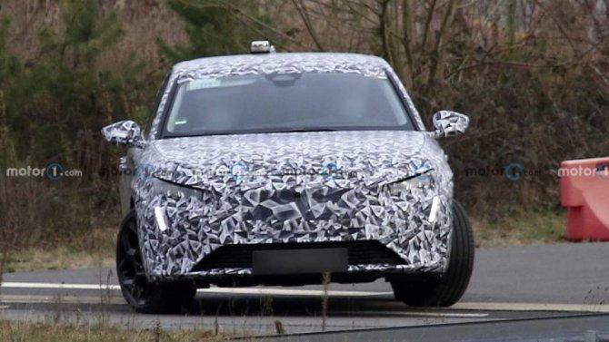 Начались испытания нового универсала Peugeot 308 SW