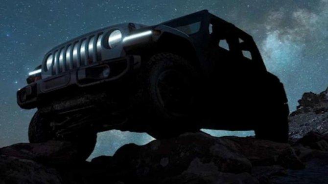 Jeep Wrangler получит электропривод