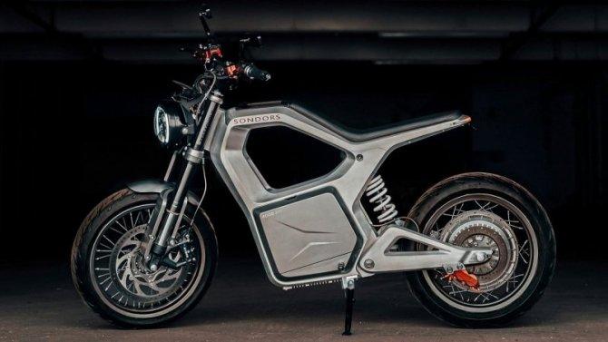 ВСША создан электроцикл сбольшим запасом хода