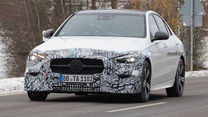Новый Mercedes-Benz C-Кlassе появился на видео