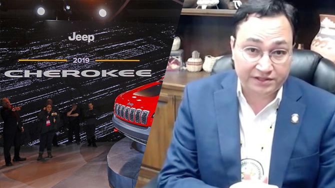 Вождь индейцев чероки выступил против использования ихимени для Jeep Cherokee