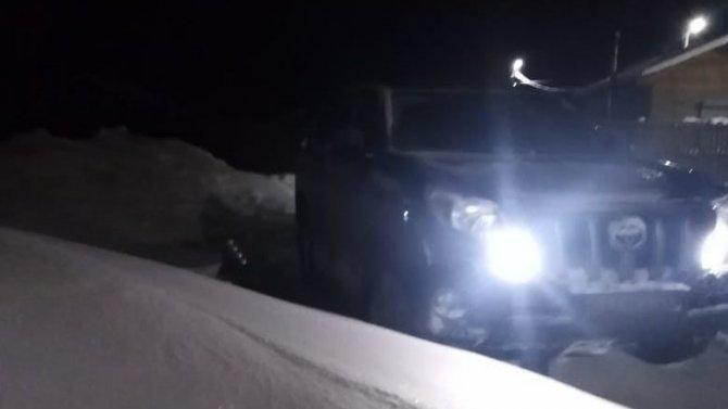 В Приозерске автомобиль съехал в кювет
