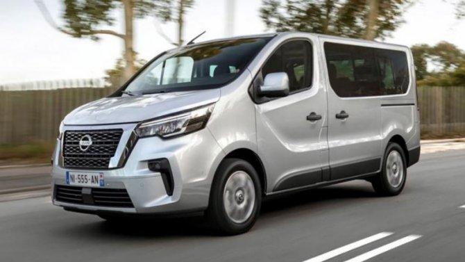 Новый Nissan NV300 получил версию повышенной вместимости
