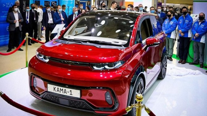 КамАЗ показал видеоролик сэлектромобилем «Кама-1»
