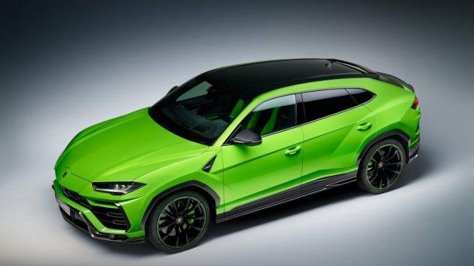 Опубликованы рендеры обновлённого Lamborghini Urus Evo