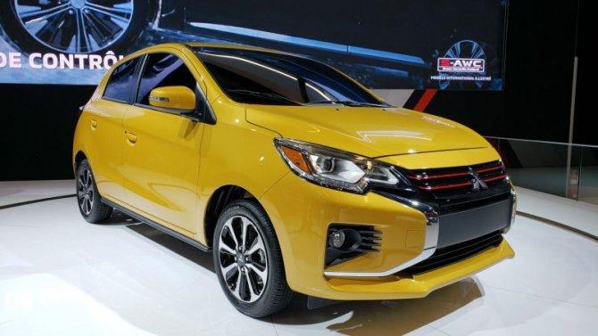 Названы цены нановый Mitsubishi Mirage