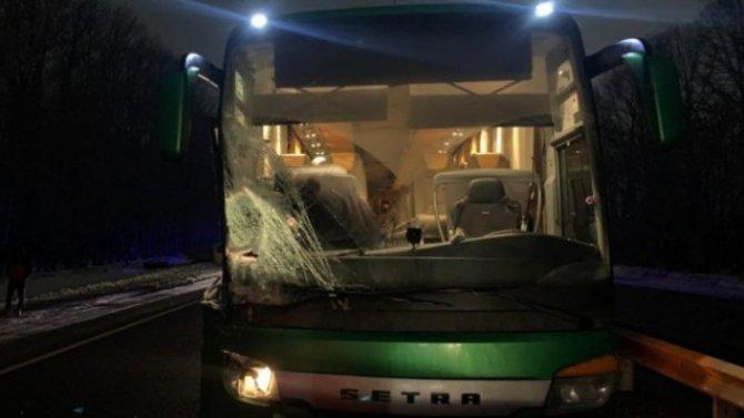 Водитель пассажирского автобуса под Рязанью превысил скорость истолкнулся с«ГАЗелью»