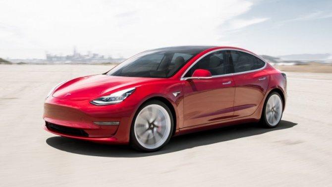 Снижены цены надве модели Tesla