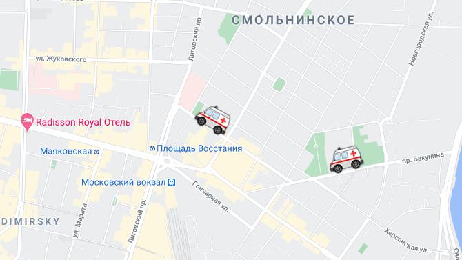 ВСанкт-Петербурге сделают мобильное приложение для отслеживания вызванной «Скорой помощи»