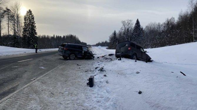 В ДТП в Карелии погиб водитель иномарки