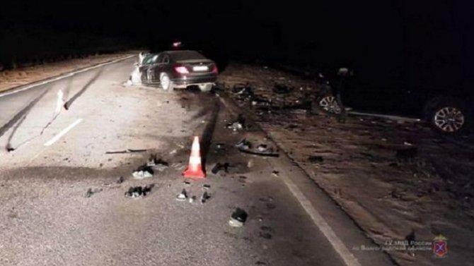 В ДТП в Волгоградской области погиб пожилой водитель