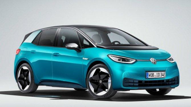 Электромобиль Volkswagen I.D.3 получит бюджетную модификацию