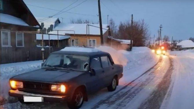 Резвый жигуленок сшиб ребенка вОричах Кировской области