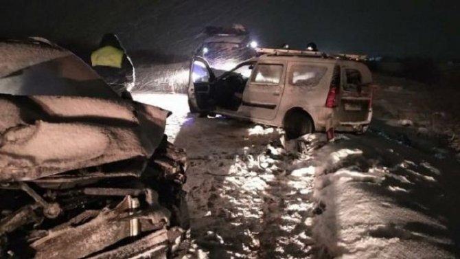 В ДТП в Тосненском районе погиб пассажир автомобиля