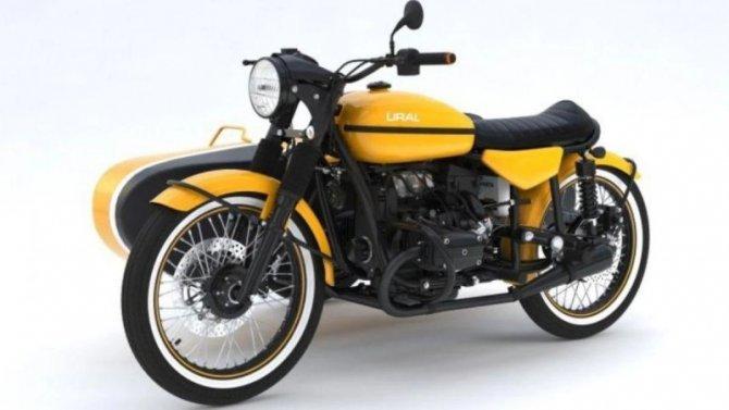 Мотоцикл «Урал» получил новое исполнение