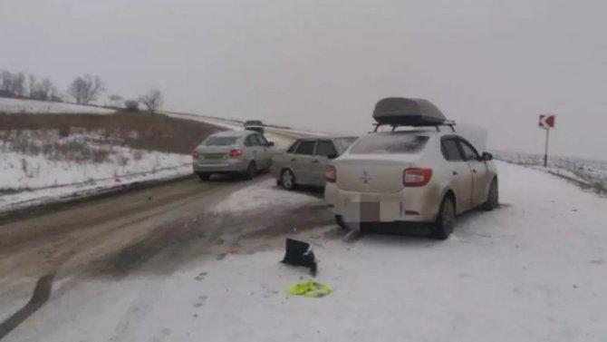 На Ставрополье трое детей пострадали в ДТП