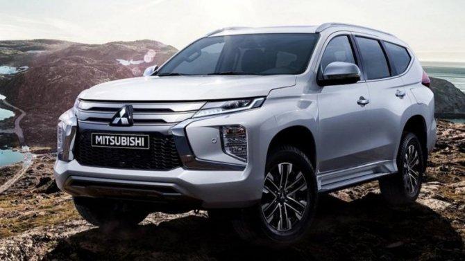 Вначале весны вРоссии представят новый Mitsubishi Pajero Sport
