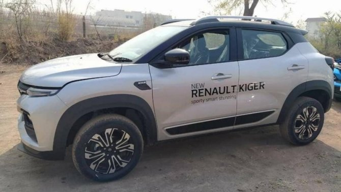 Начались продажи нового кроссовера Renault Kiger