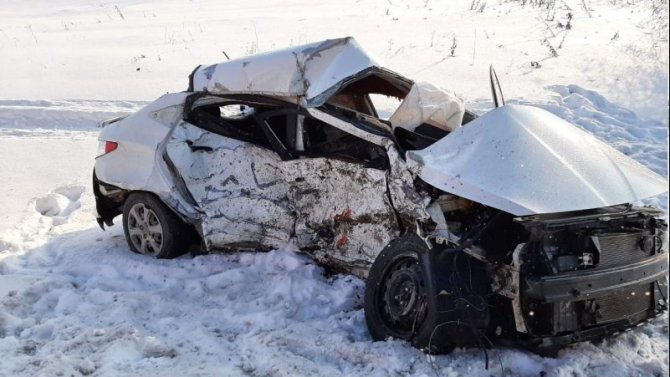 В ДТП в Самарской области погиб водитель иномарки