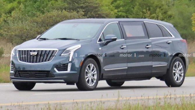 Cadillac XT5 получил сверхдлинную версию