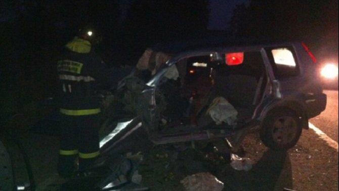 Мужчина и женщина пострадали в ДТП в Волховском районе Ленобласти