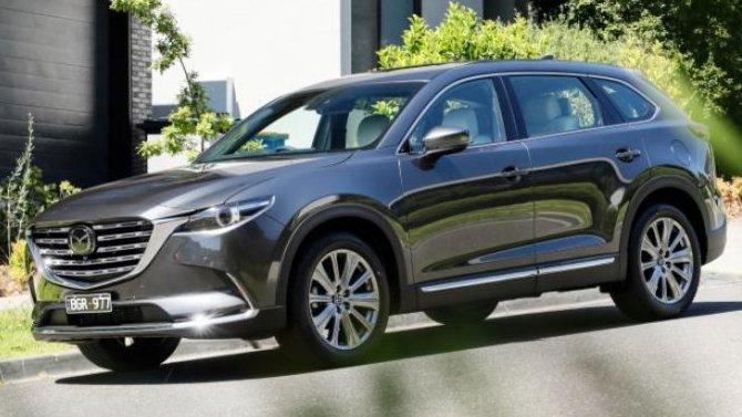 ВРоссии начались продажи новой Mazda CX-9