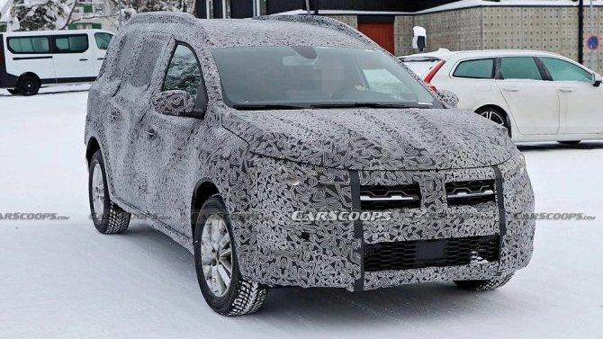 Появились подробности оновом универсале Dacia Logan MCV