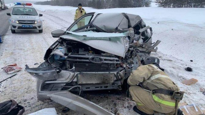 В ДТП в Северном районе Оренбургской области погиб человек