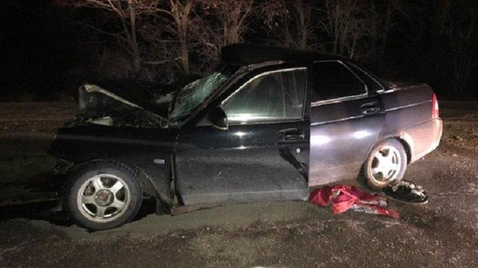 Пассажир «Лады» погиб в ДТП в Иловлинском районе Волгоградской области