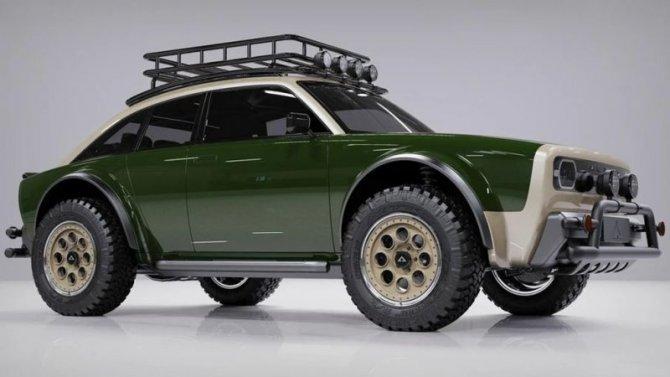 ВСША представлен очень интересный электромобиль
