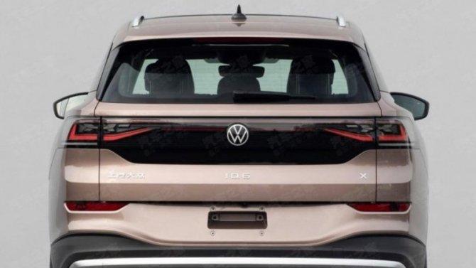 Опубликованы первые снимки серийного VolkswagenID.6 Х
