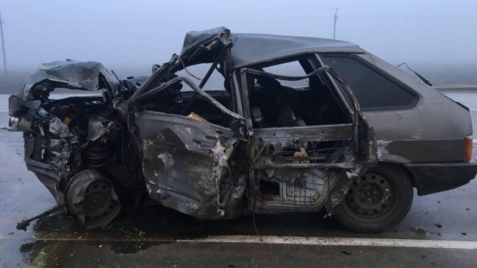 Массовое ДТП в Ростовской области с участием КамАЗа, пострадало 2 человека