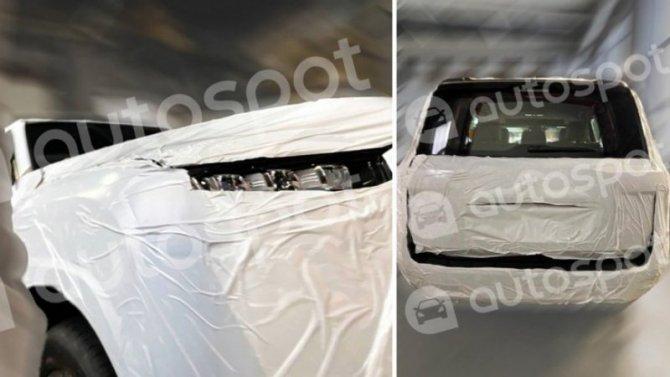 ВМоскву привезли Toyota Land Cruiser 300