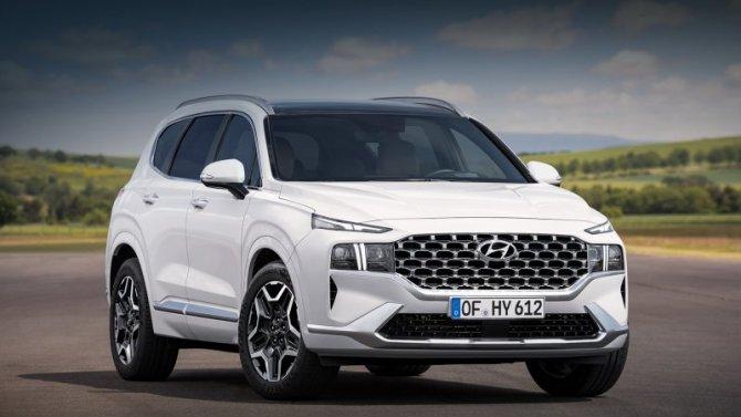 ВРоссии начались продажи нового Hyundai Santa Fe