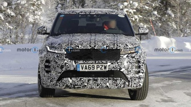 Range Rover Evoque получил спецверсию для Китая