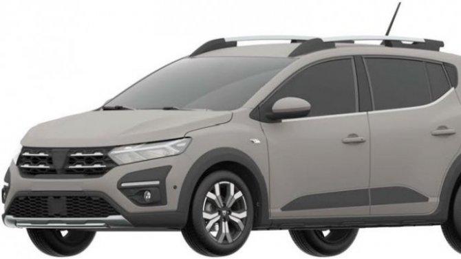 В России запатентован новый Renault Sandero Stеpway