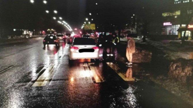 Беспечный водила «Шевроле» отправил молодую женщину на больничную койку