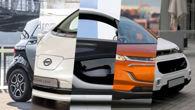 Топ-5 электрокаров дешевле Tesla, доступных нароссийском рынке