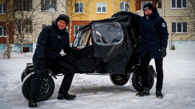 Российские школьники собрали багги, пригодный кэксплуатации наСевере