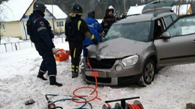 Два человека пострадали в ДТП под Тосно