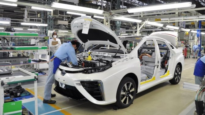 Toyota планирует побить собственный рекорд пообъёму продаж