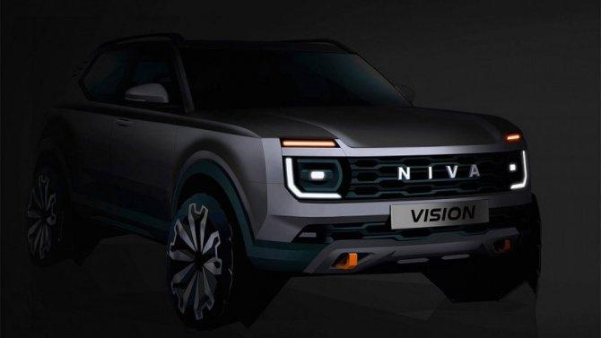 Новая Lada Niva: стало известно больше