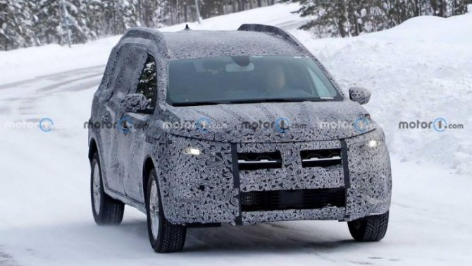 Начались испытания нового универсала Dacia Logan